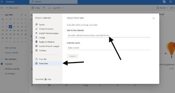 Powered Now, Microsoft Outlook