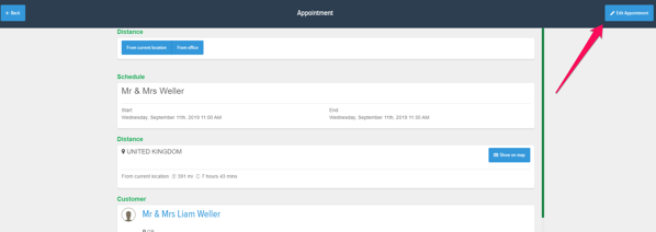 Powered Now, assigning staff to appointments