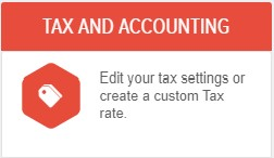 Powered Now, setting up tax